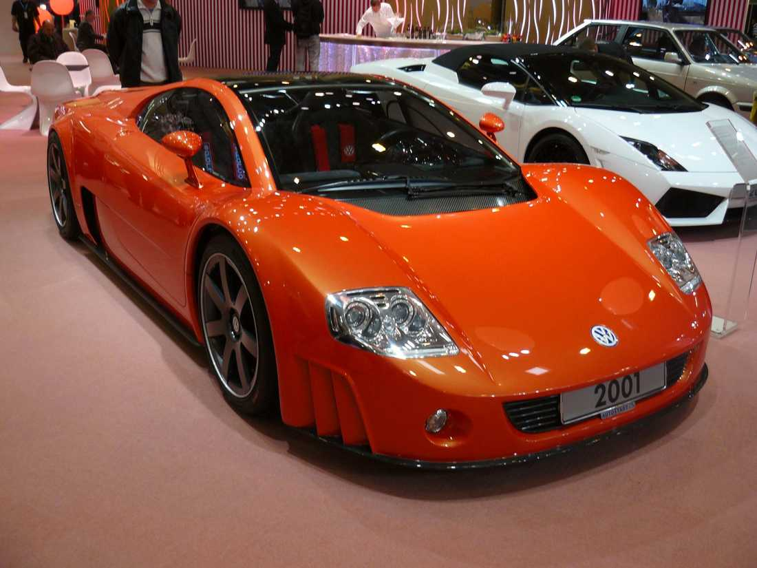 VW W12 Nardo W12 Nardo från 2001 var en av de bilar som la grunden till Bugatti Veyron.