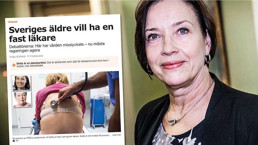 Löftet om att stärka rätten till fast läkare ska genomföras. Vi har skrivit in det i den kompromiss som tecknats mellan S, MP, C och L, skriver Kristina Nilsson.