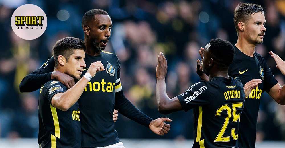 AIK ny tabelltrea – besegrade Halmstad med 1–0
