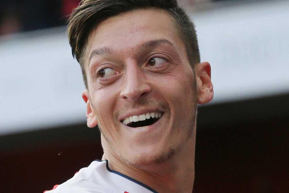 Mesut Özil.