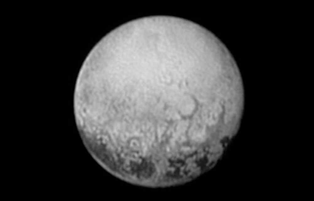 Ny bild på Pluto.