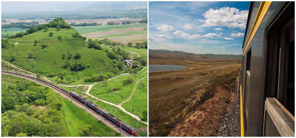 Transsibiriska järnvägen är en fantastisk upplevelse.