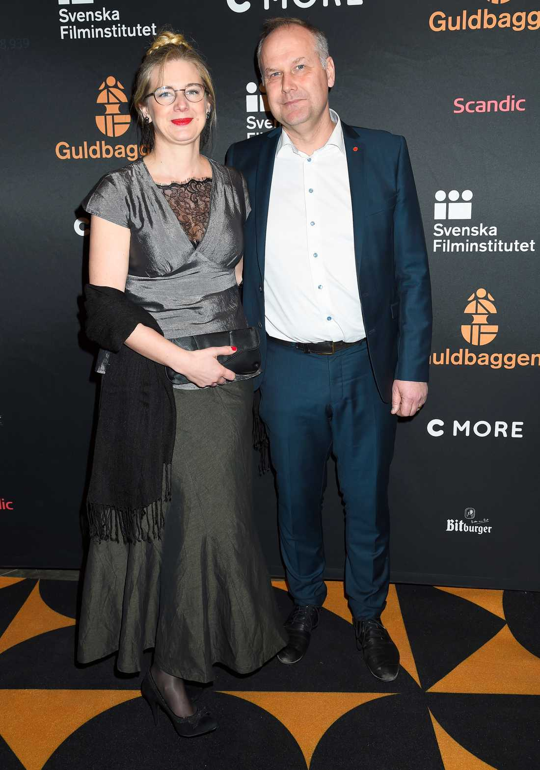Ann Måwe och Jonas Sjöstedt.