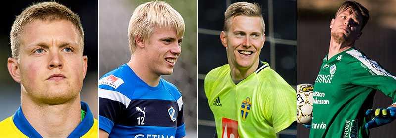 Erlandsson, Pettersson, Johnsson och Nilsson.