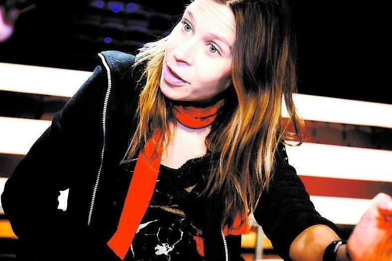 Caroline af Ugglas lyssnade inte på Christer Björkmans genomgång.