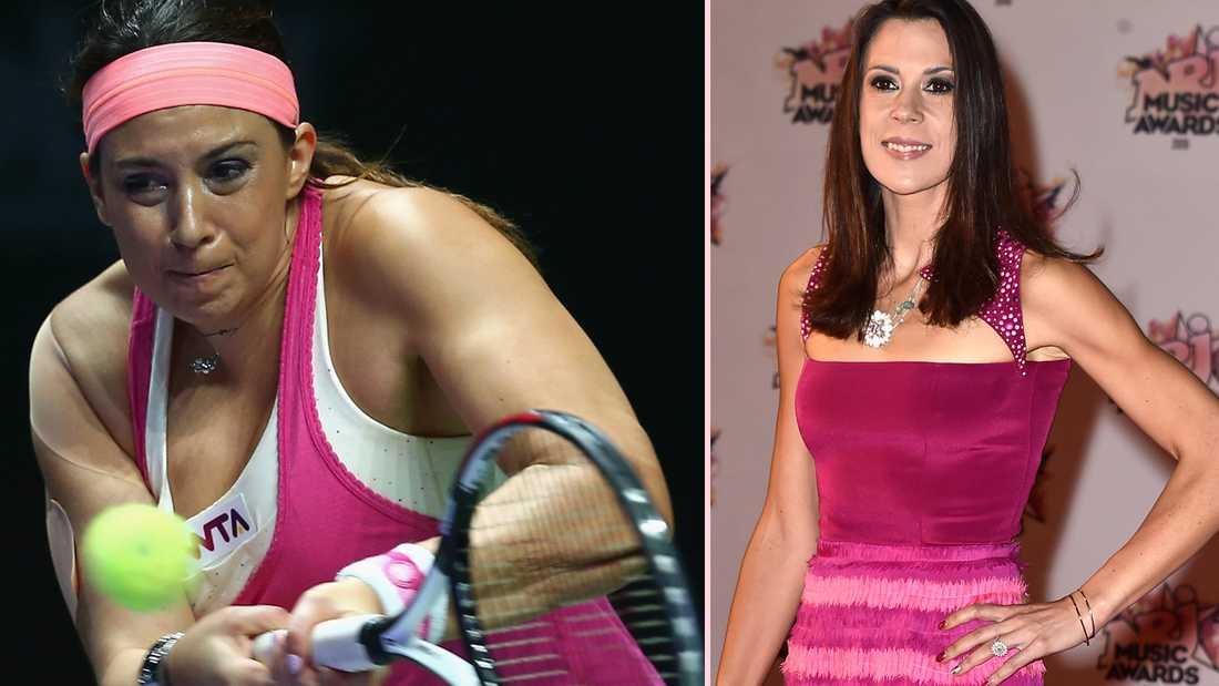 Marion Bartoli 2014 respektive 2015.
