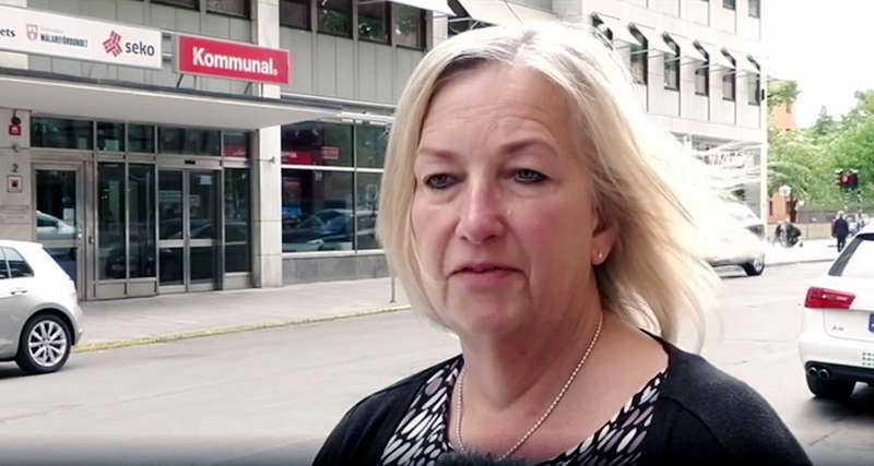 """Berit Müllerström: """"Jag är lugn, trygg och orädd"""""""