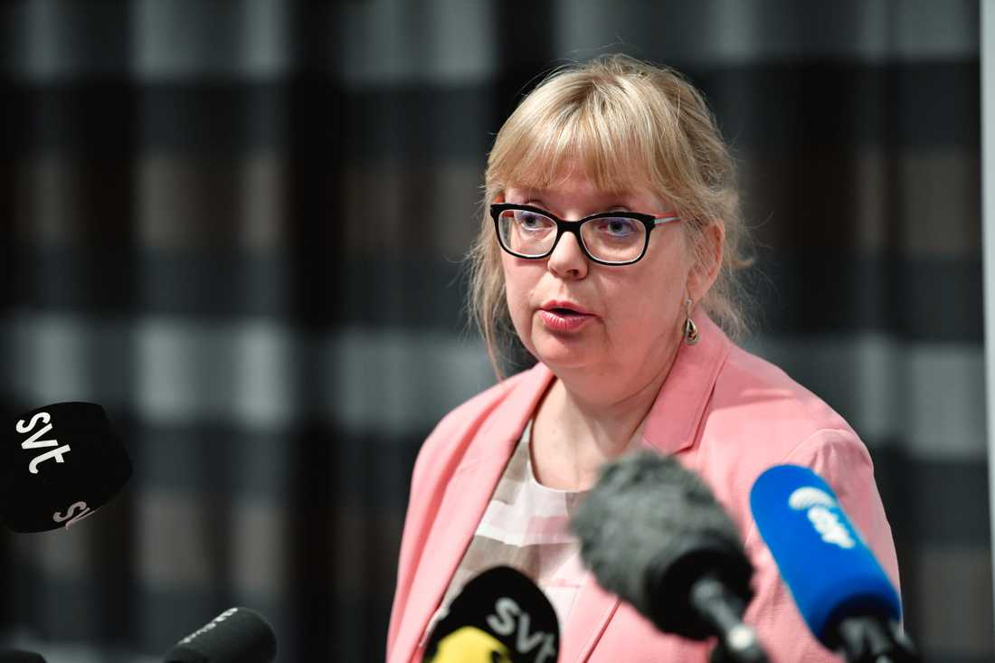 Vice överåklagare Eva-Marie Persson i förra veckan.