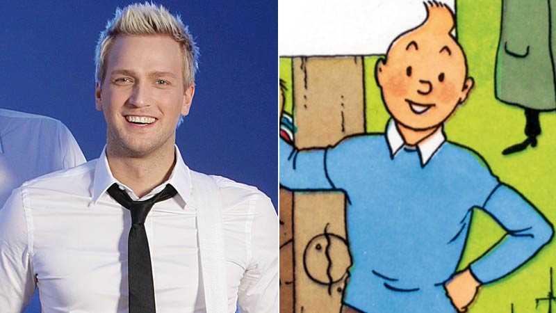 Henrik Strömberg i Scotts och Tintin.