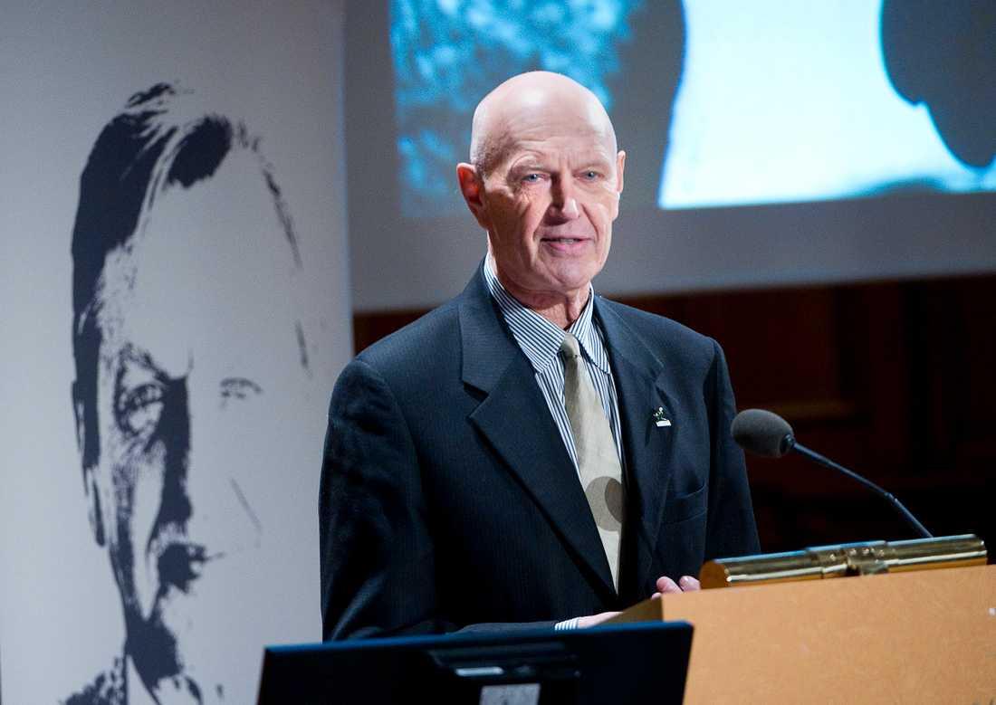 Diplomaten Pierre Schori, tidigare bland annat förre biståndsminister och kabinettssekreterare.