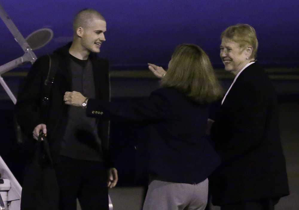 Matthew Miller frihetsberövades i Nordkorea i april.