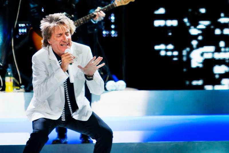 """Bäst för kvällen var Stewarts framförande av """"Can't stop me now""""."""