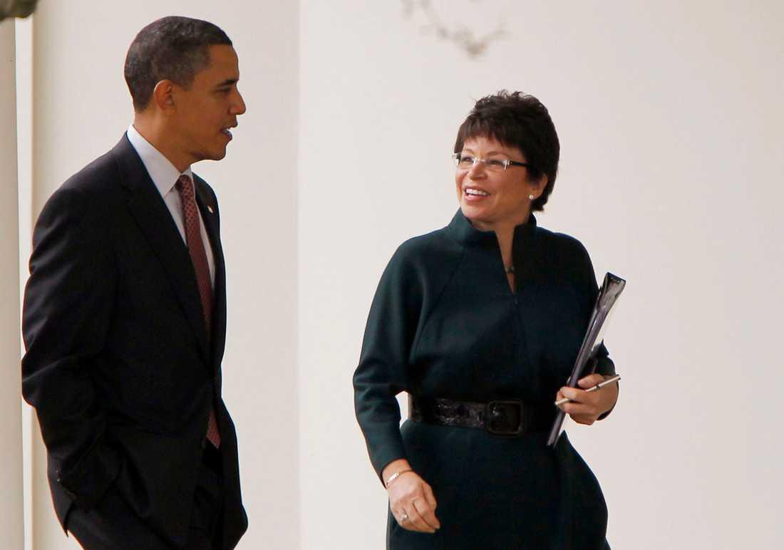 President Barack Obamas medarbetare Valerie Jarrett.