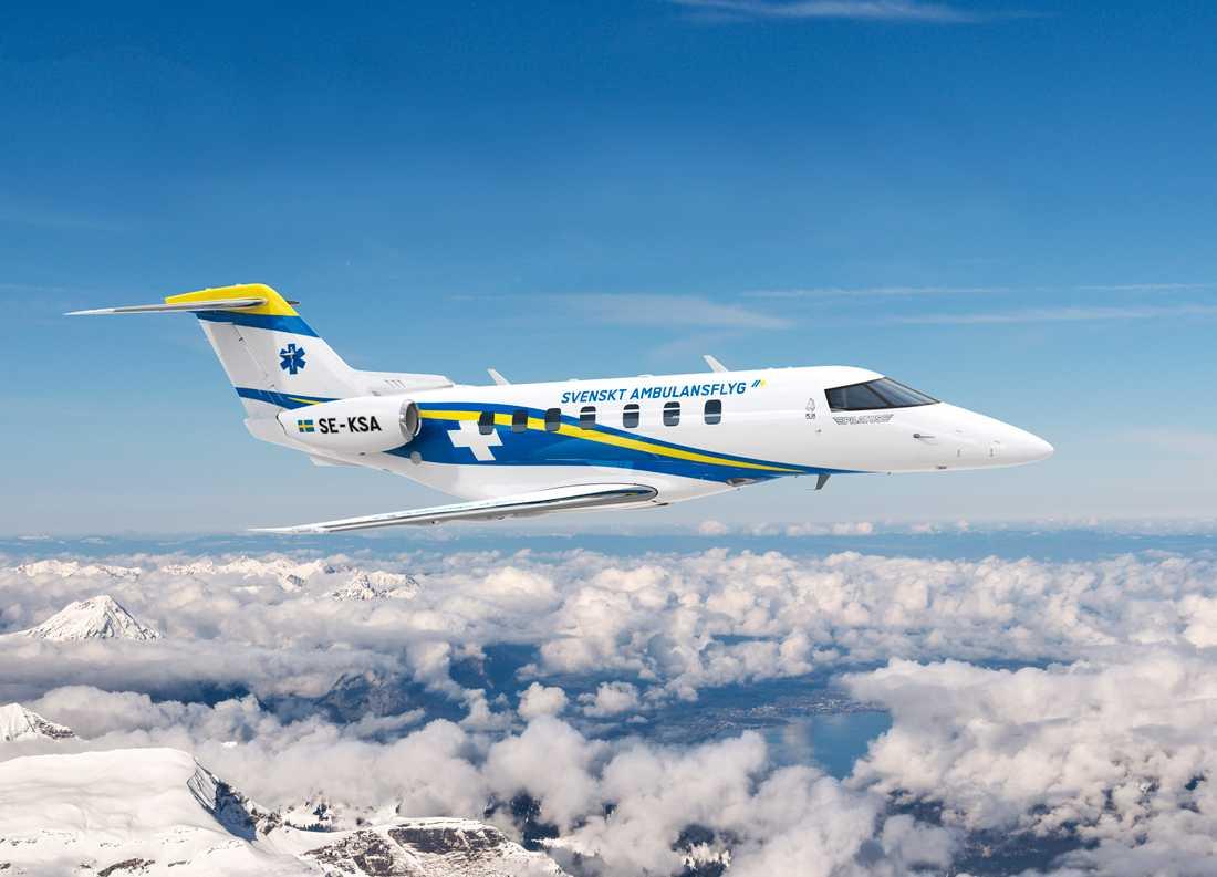 De nya jetplanen från schweiziska tillverkaren Pilatus börjar levereras i april.
