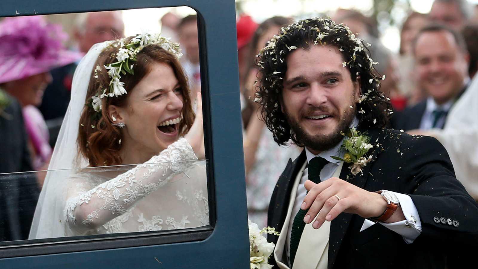 De gifte sig i Skottland 2018.