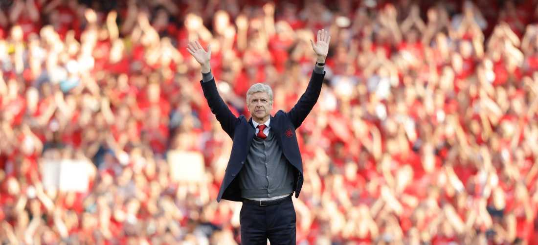 Wenger avslutade sin lång Arsenal-karriär efter 22 år i klubben