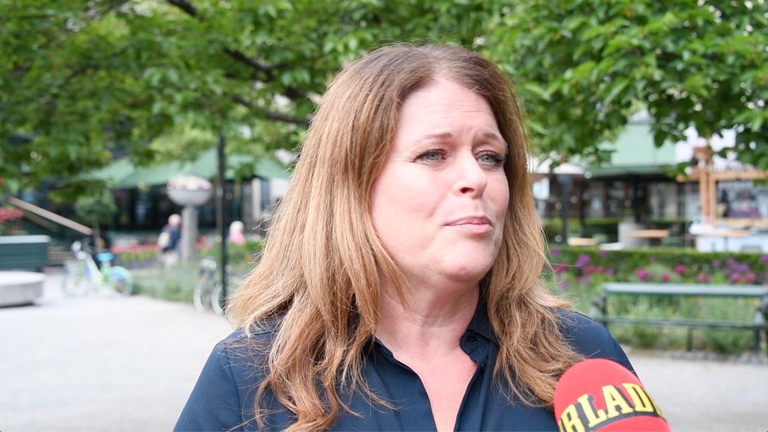 """Hyresgästföreningens kommunikationschef Caroline Thunved säger att hon tycker medlemskritiken är """"jättetråkigt""""."""