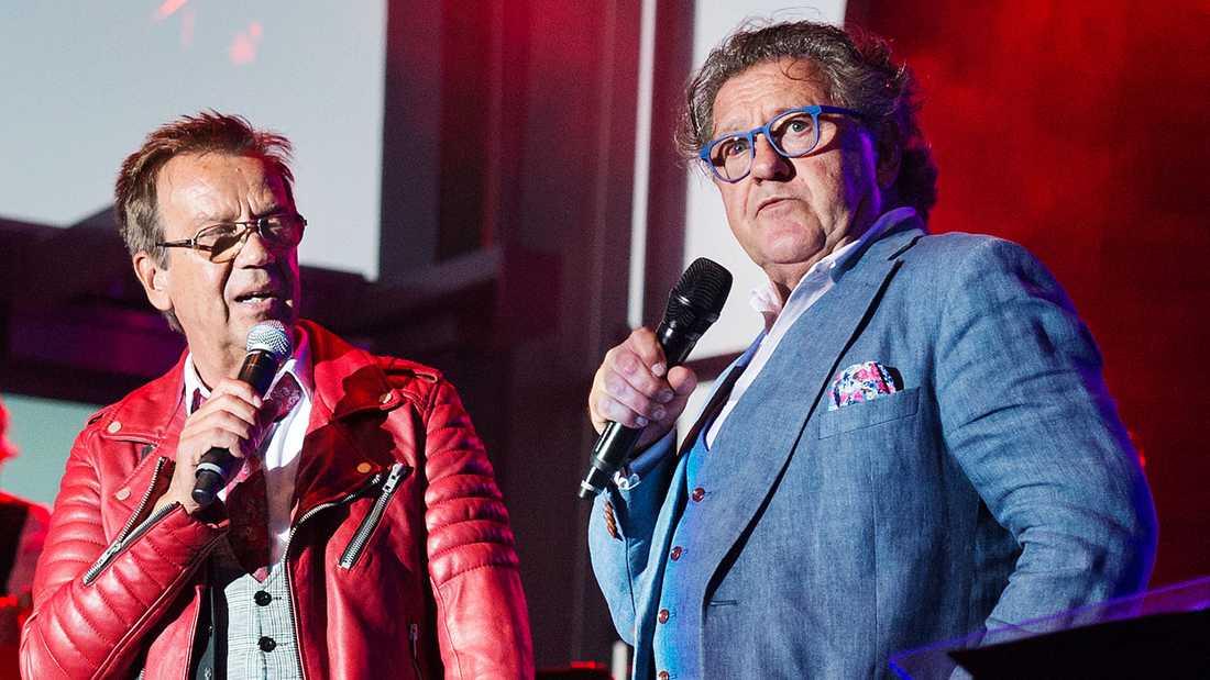 Björn Skifs och Tommy Körberg.