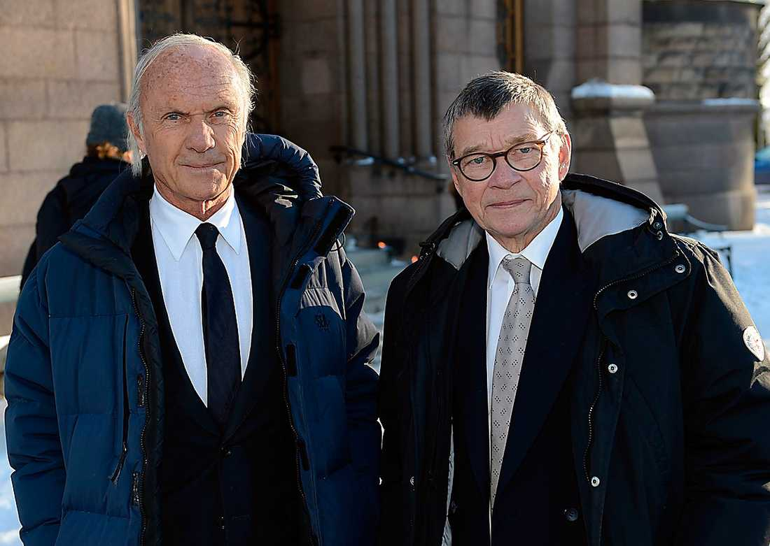 Finansmannen Sven-Olof Johansson och hans kollega Anders Keller har sponsrat Fryshuset och arbetat tillsammans med Anders Carlberg.  – Han hade ett varmt hjärta och var en stor entreprenör, säger Anders Keller.