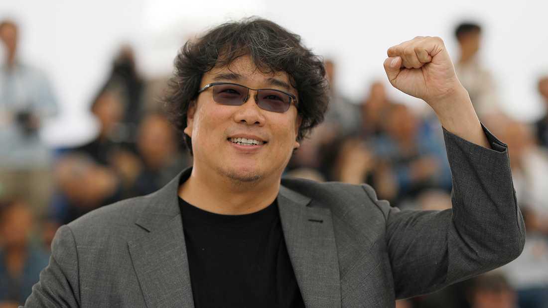 """Guldpalmen, bästa film: """"Parasites"""", av Bong Joon Ho, Sydkorea."""