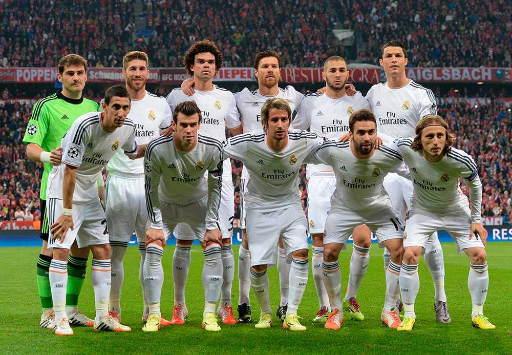 I CL-semifinalen mot Bayern München förra året körde Ronaldo längd-tricket. Och Pepe hakade på.
