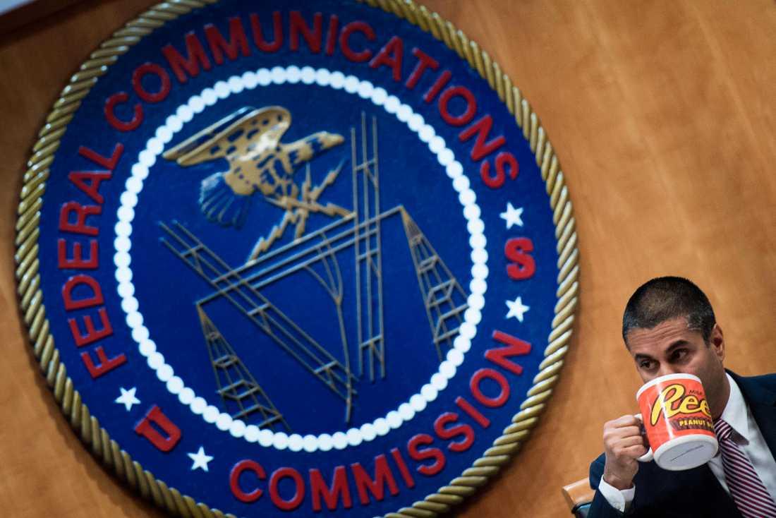 FCC:s ordförande Ajit Pai.