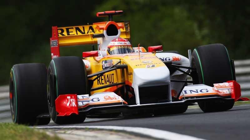 Tog pole position Fernando Alonso var snabbast i kvalet till Ungers Grand Prix. FOTO: GETTY IMAGES