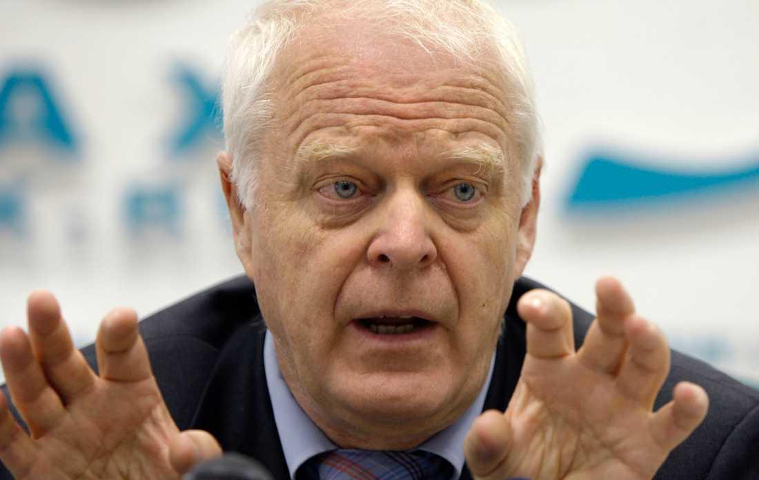 Thomas Hammarberg (S) är kritisk mot regeringens nya migrationslag. Arkivbild.
