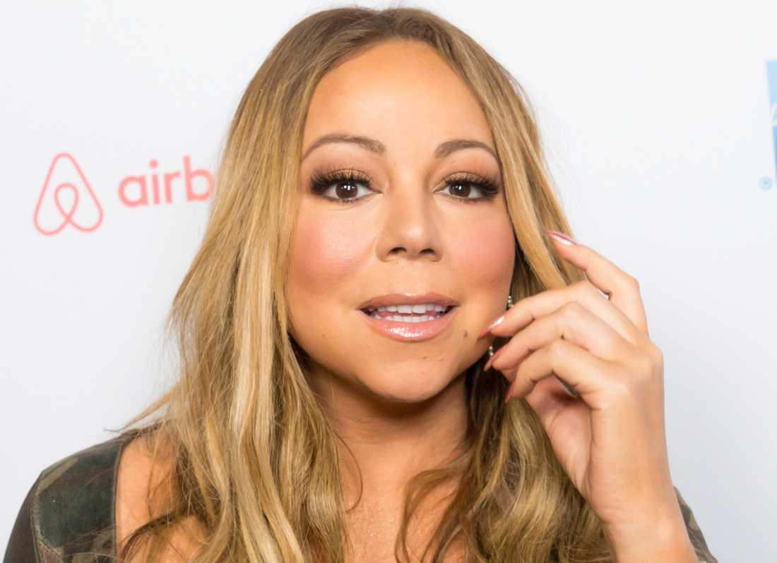 Mariah Carey fick missfall efter intervjun.