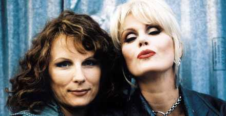 "Jennifer Saunders och Joanna Lumley i ""Absolutely fabulous""."