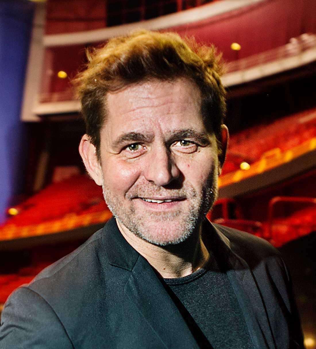 Programledaren Rickard Olsson