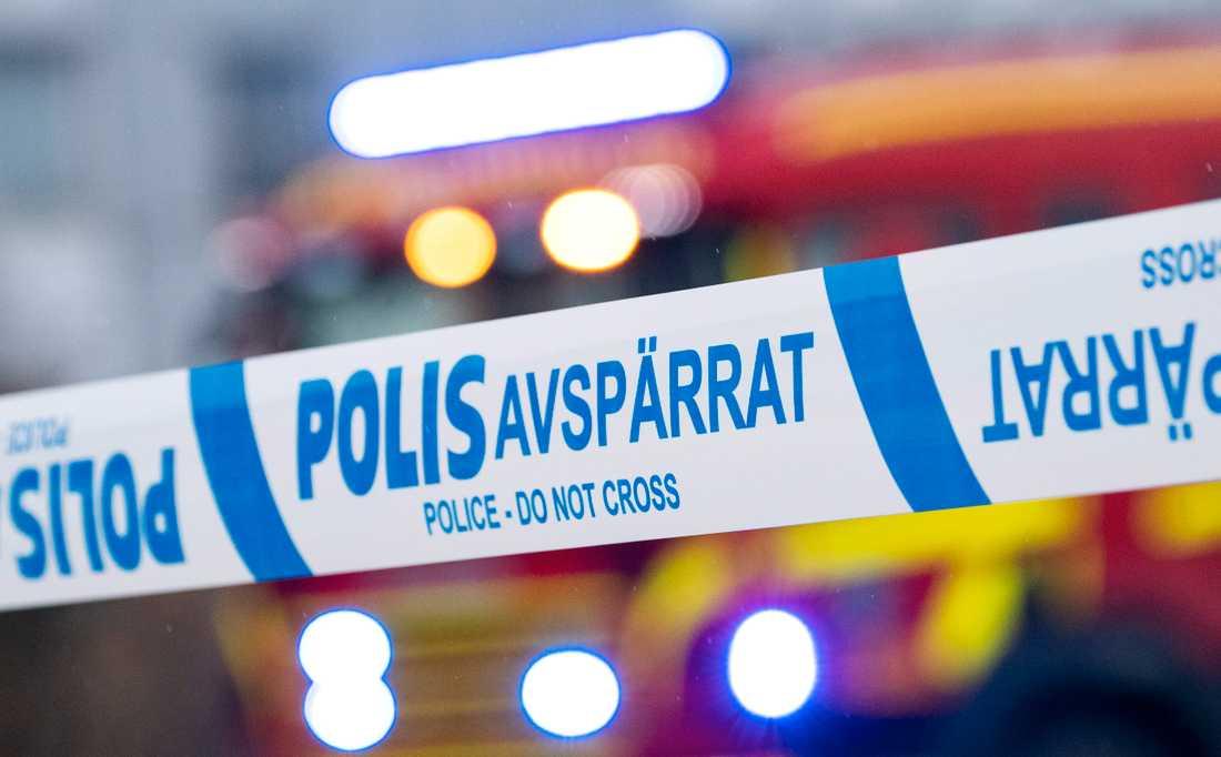 Polisen har hittat vapen och tomhylsor efter skottlossning i Tybble i Örebro. Arkivbild