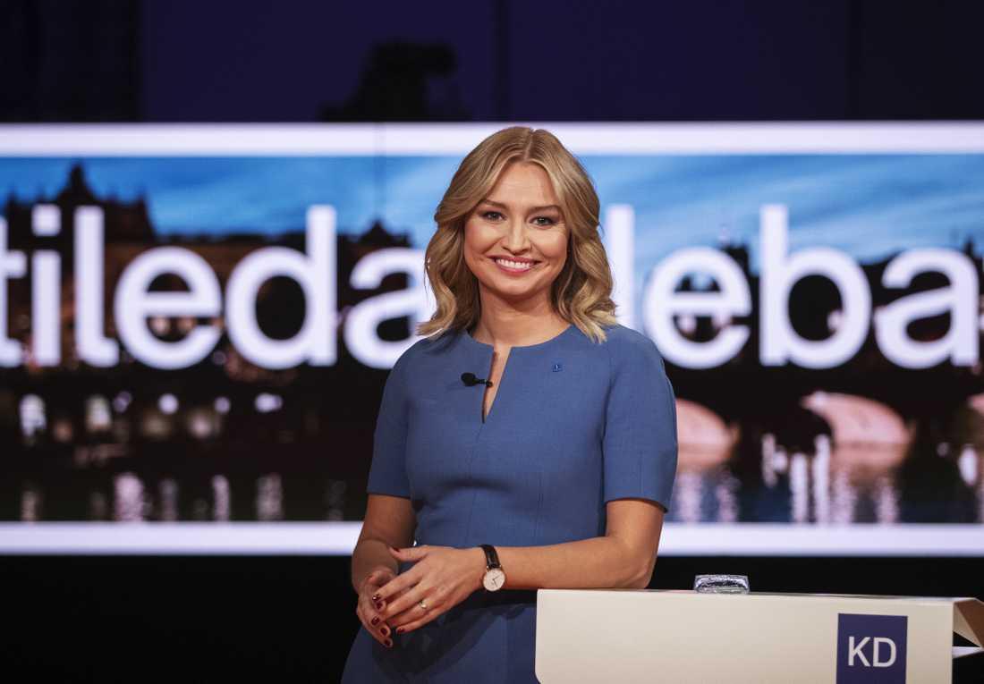 KD-ledaren Ebba Busch.