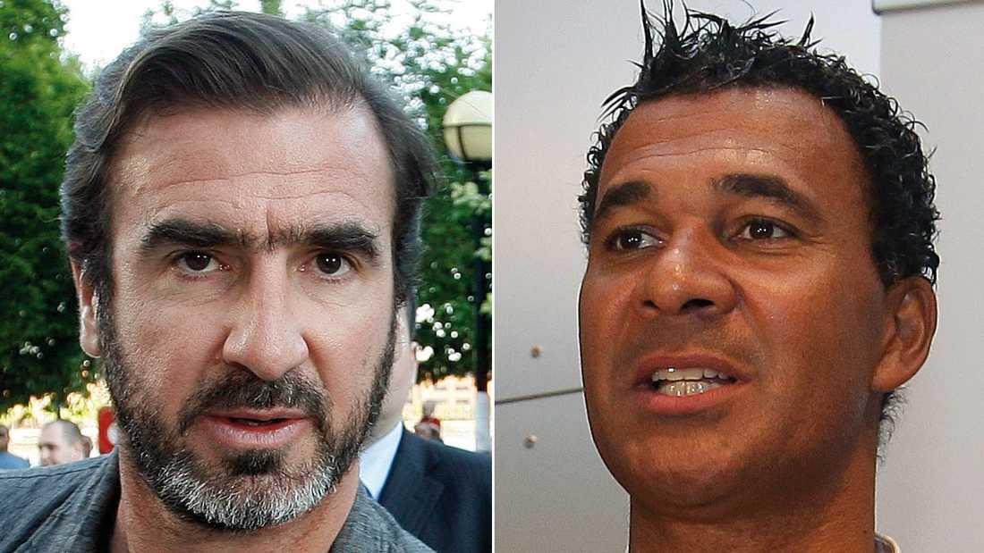Cantona och Gullit.