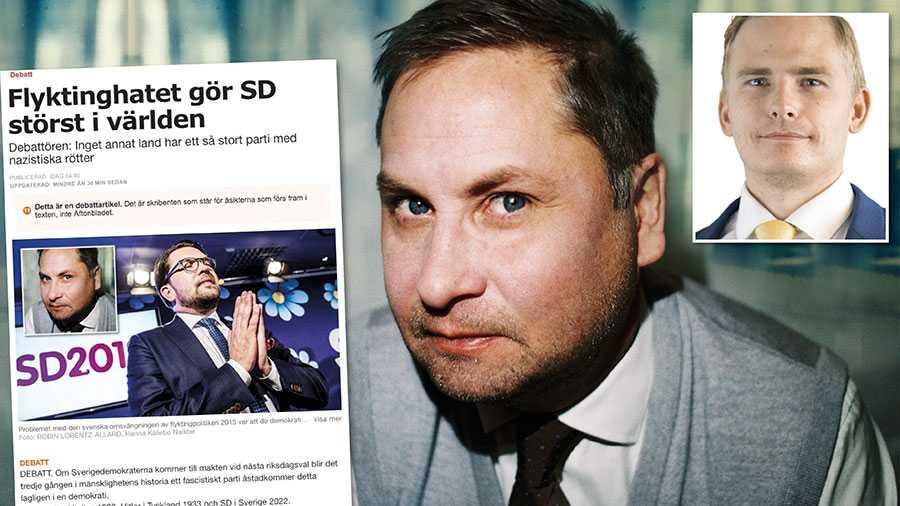 Henrik Arnstad är skyldig alla utomeuropeiska invandrare som röstar på Sverigedemokraterna en ursäkt,  skriver Henrik Gustafsson, SD.