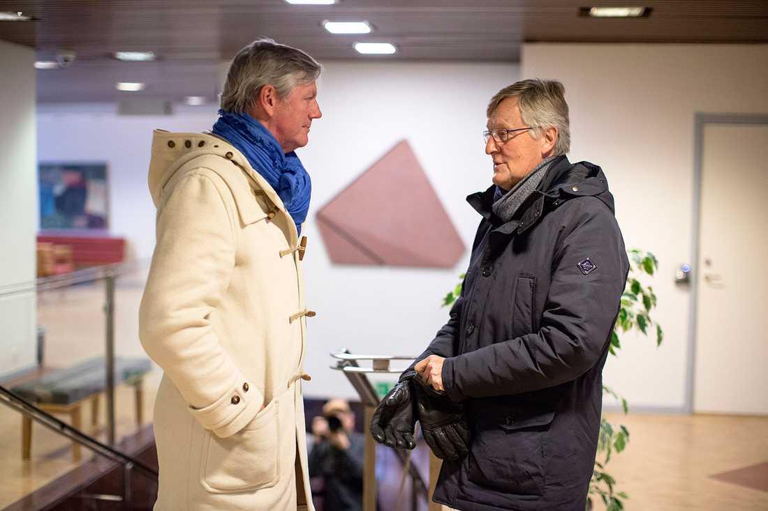 Jan Åke Jonsson och Victor Muller.