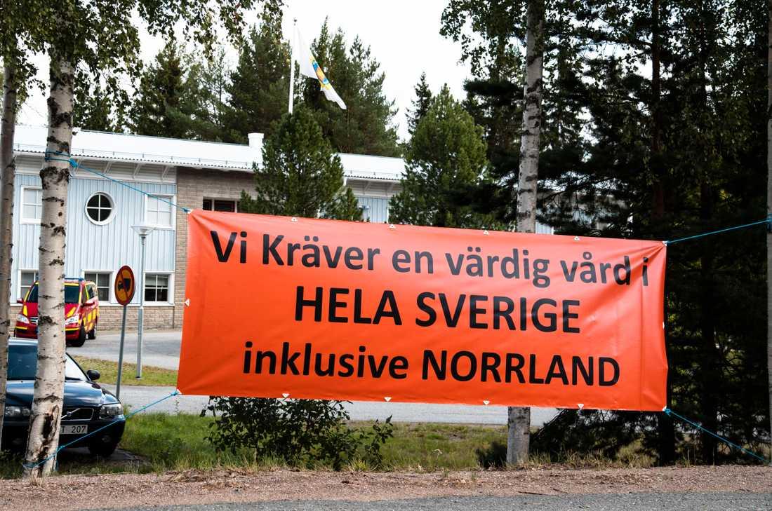 Stefan Löfven besökte Sollefteå i mitten på augusti under sin Norrlandsturné.