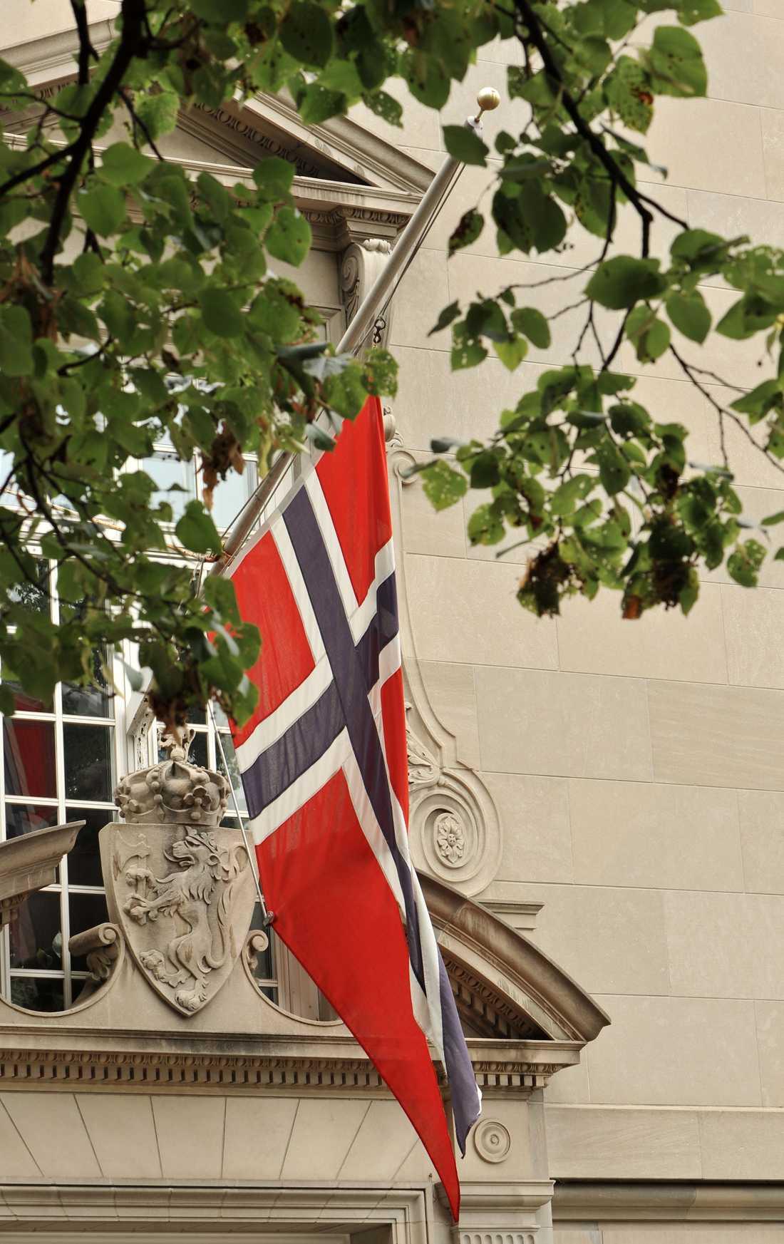 USA Norska ambassaden i Washington.