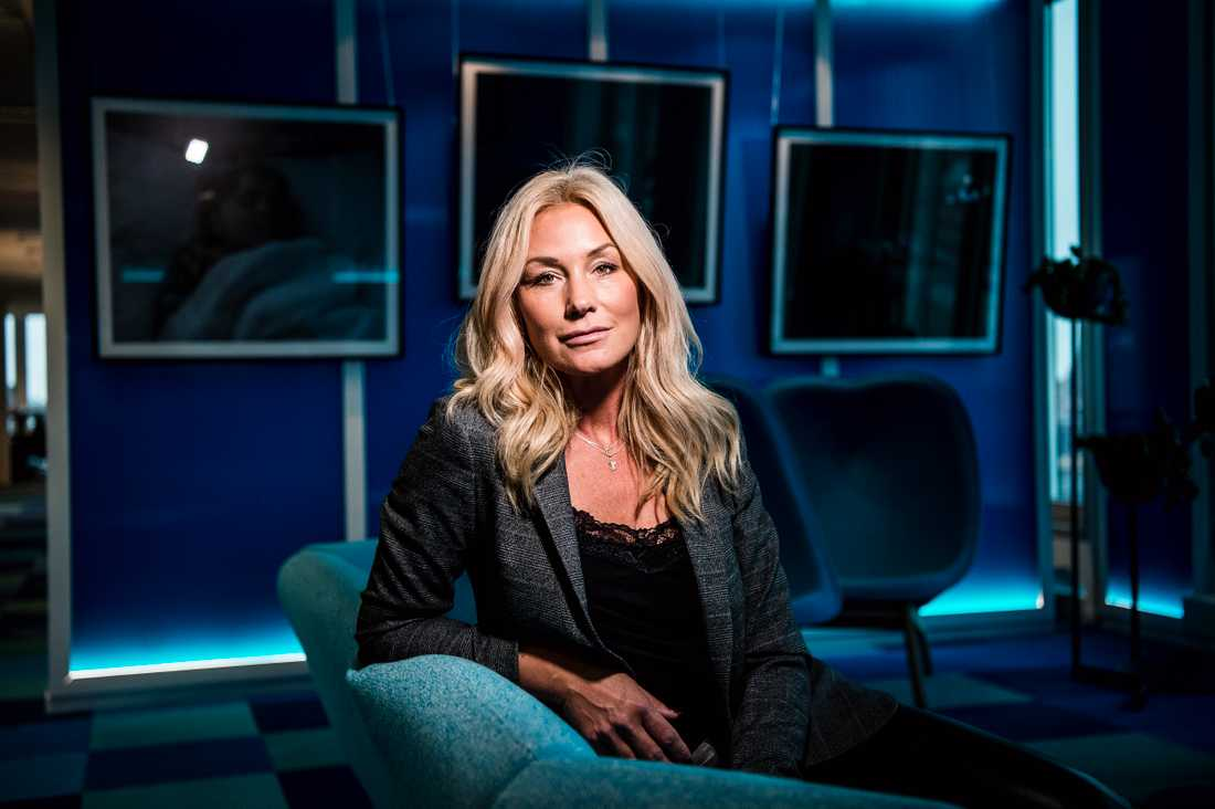 """Jessica Andersson har valt att hylla sina föräldrar med Marie Fredrikssons låt """"Tro"""" i kvällens """"Stjärnornas stjärna""""."""