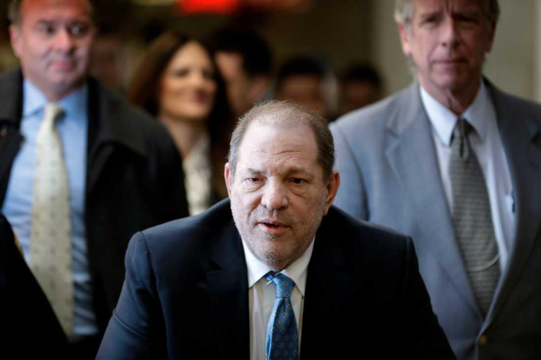 Harvey Weinstein dömdes förra året till fängelse för våldtäkt. Arkivbild.