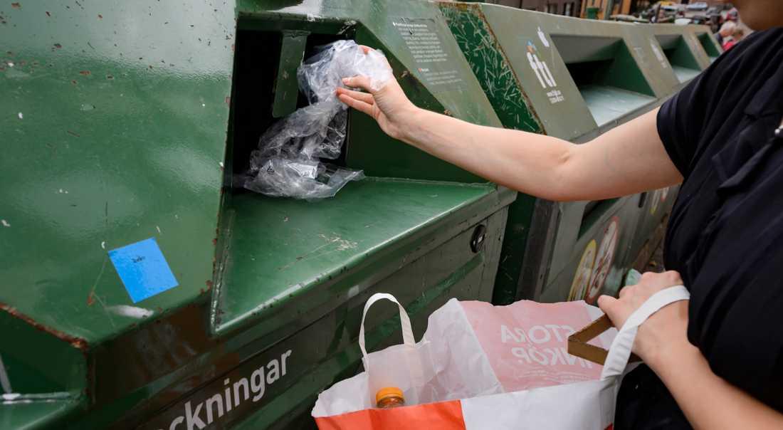 Återvinning sågs som en kvinnlig miljöaktivitet.