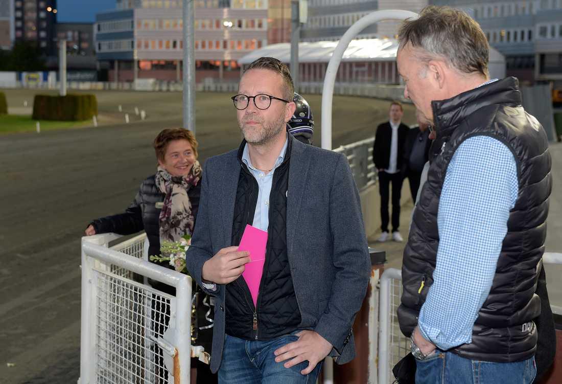 Solvallas sportchef Anders Malmrot har en Elitloppsbiljett till Propulsion