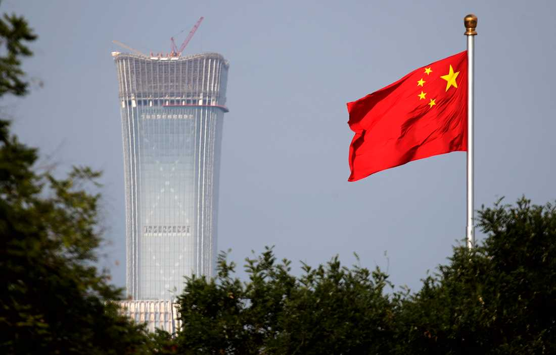 Kina utvisar amerikanska journalister. Genrebild.
