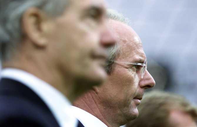 Svennis högra hand och trogne vän Tord Grip följde självklart med när Mr. Eriksson fick jobbet som Englands förbundskapten 2001.