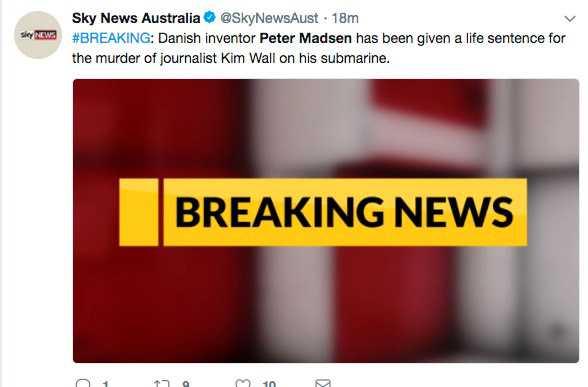 Sky News, Australien.