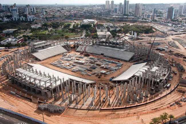 NATAL Arena das dunas (Kapacitet: 42 001)
