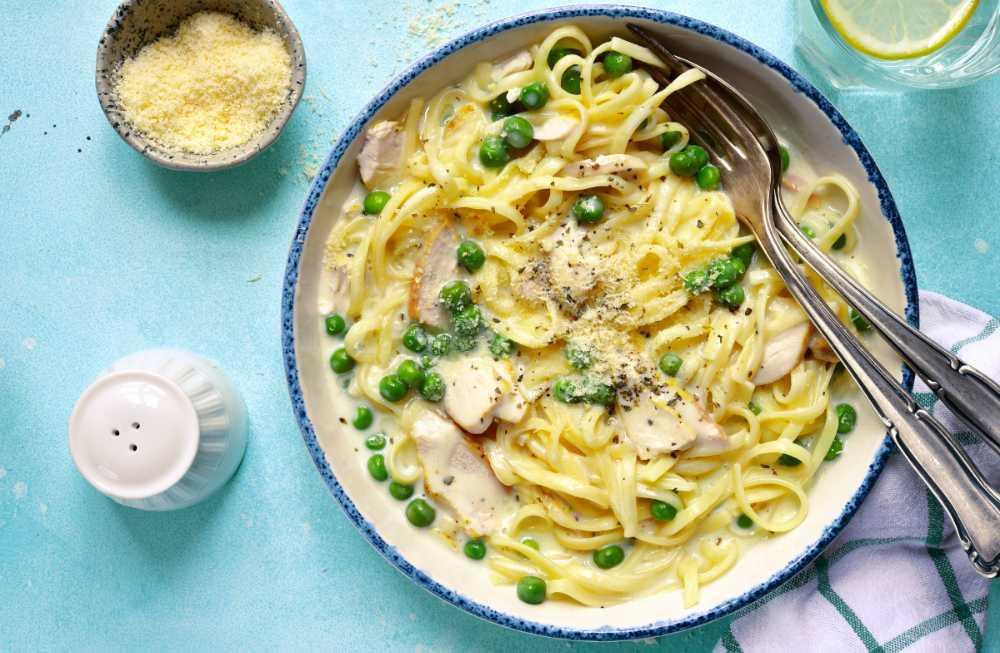 kyckling pasta matlagningsgrädde