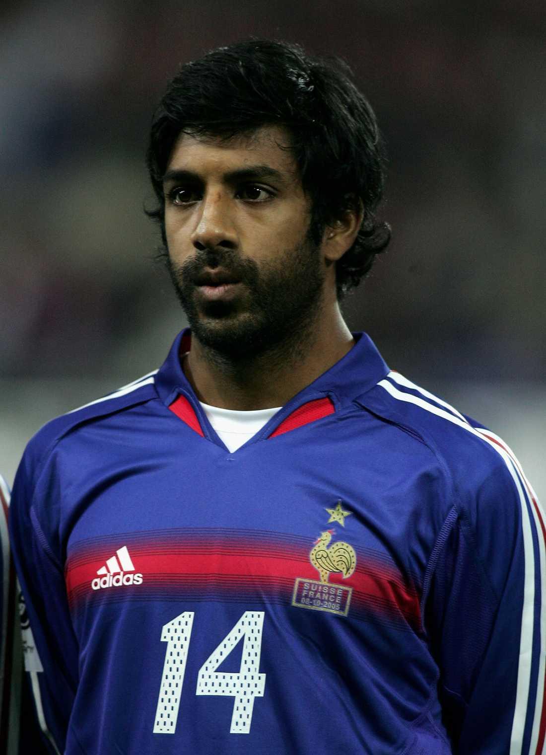 Vikash Dhorasoo var en del av Frankrikes VM-trupp 2006