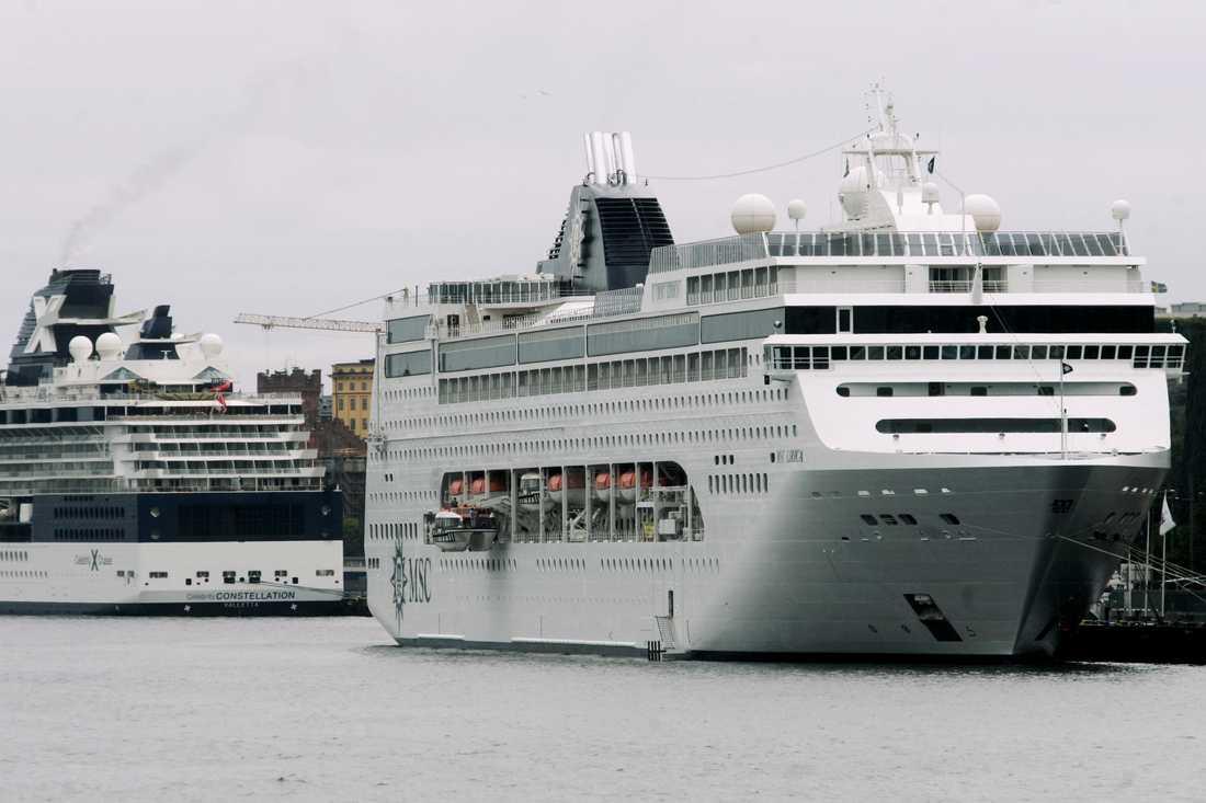 Stefan Scheja, kryssningsansvarig vid Stockholms hamnar, räknar med att semesterkryssningar kommer att bli vanligare. Han räknar med att upp emot 100 nya fartyg kommer att börja anlöpa Stockholms hamnar inom tio år. Arkivbild.