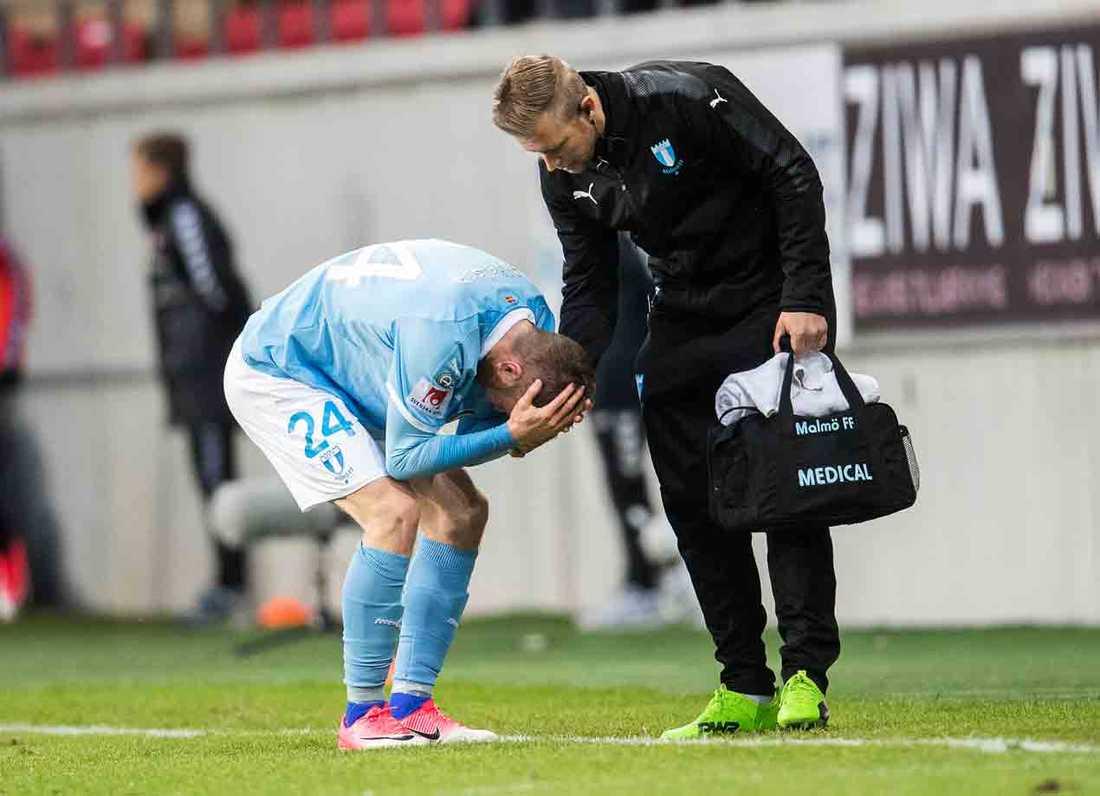 Lasse Nielsen blir borta minst en match.